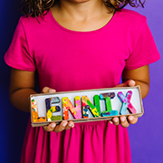 Personalized Crayons for kids - Personalized Original Rainbow Crayons® by Art 2 the Extreme® Name Crayons for Kids